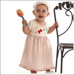 Z: Baby Lulu ESTELLE Ruffle T-Dress