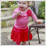 Z: Baby Lulu KINSEY Skirted Leggings