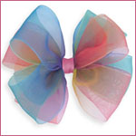 Blooming Bows Rainbow Barrette