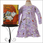 II: Books to Bed *Fergus* Nightgown with Book