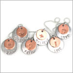 ~ Circle Of Sentiments Whimsical *Love* Necklace