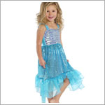 Creative Education Blue Sequin Mermaid Dress
