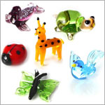 Mini Glass Animal World