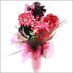 Z: Perfectly Pink Hair Accessory Bouquet *1 to 7 Stems*