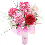 Z: Pretty in Pink Hair Accessory Bouquet *1 to 7 Stems*