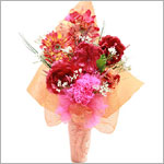 Z: Radiant Raspberry Hair Accessory Bouquet *1 to 7 Stems*