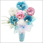 Z: Tastefully Teal Hair Accessory Bouquet *1 to 7 Stems*