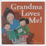 Grandma Loves Me Board Book