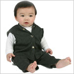 2T-3T: Ooh Baby Boy Classic Charcoal 3 Pc Set
