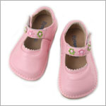 II: Rainbow Steps LIGHT PINK Leather Shoe *SQUEAKS*