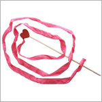 Sarah's Silks Mini Heart Streamer