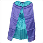 Sarah's Silks Purple/Turquoise Reversible Cape