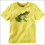 Tea Yellow S/S Katak Frog Tee