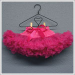 Ally Girl Infant Dropwaist Pettiskirt *RASPBERRY*