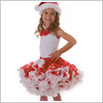 II: Ally Girl Pettiskirt *RED RIBBON* (petite - tween)