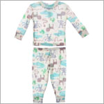 Baby Lulu Pepper Toes Jungle 2pc Jammies