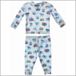 Baby Lulu Pepper Toes Tug Boat 2pc Jammies