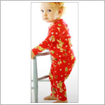 Baby Lulu Holiday P.J.'s Santa 2pc Jammies