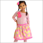 Z: Baby Lulu FERN Stella 2pc Skirt Set