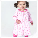 Z: Baby Lulu TWEET TWEET ORGANIC Swing Dress