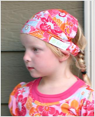 II  Baby Lulu Hyacinth Garden Head Scarf 3a6f3e94048