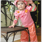 II: Baby Lulu Margherita Drawstring Pants