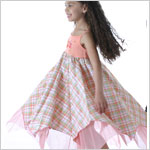 II: Baby Lulu Niki Etched Rose Twirl Dress