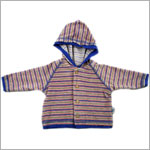 II: Pepper Toes Doggy World Button Hooded Jacket