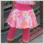 II: Baby Lulu Pop Art Capri Leggings