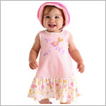 Z: Baby Lulu LITTLE BIRDS ORGANIC Ella Dress