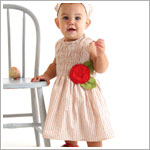 Z: Baby Lulu ESTELLE Shelli Shirred Dress