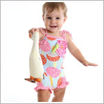 Z: Baby Lulu PORCINI Forties 1pc Swimsuit