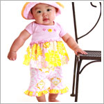 Baby Lulu SUNSHINE Knit Roll Hat