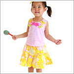 Z: Baby Lulu SUNSHINE Skirt Set