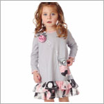 Z: Baby Lulu POSY Cora Dress