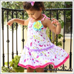Z: Baby Lulu BIRDIES Edith Dress