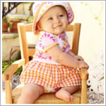 Z: Baby Lulu BLISS Skirted Bodysuit