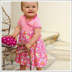 Z: Baby Lulu SWEET TREATS Rosa Dress