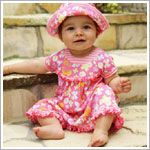 Z: Baby Lulu SWEET TREATS Sara Dress