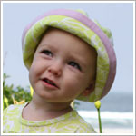 Baby Lulu BIANCA Knit Roll Hat
