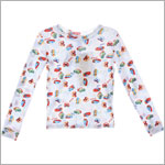 II: Pepper Toes *Stock Cars* L/S Jammie Top