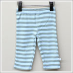 Baby Nay *Da Lil Guys* Space Cadet Light Blue/Grey Striped Pants