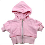 XL (8y/10y) II: Baby Nay Mumzee Pink Terry Hooded Jacket