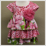 Baby Nay *Akela* Tiered Cindy Dress