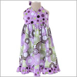 Beary Basics *Lollidots* Grape Halter Dress