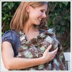 Bebe au Lait MINT CHOCOLATE Nursing Cover