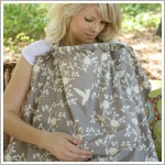 Bebe au Lait *Hooter Hiders* NEST Grey/Cream Nursing Cover