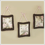 : Abby Rose Brown & Pink Wall Hangings