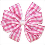 Blooming Bows Gingham Clippie *Many Colors!*