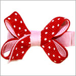 Blooming Bows Valentines Day Bitty Bow